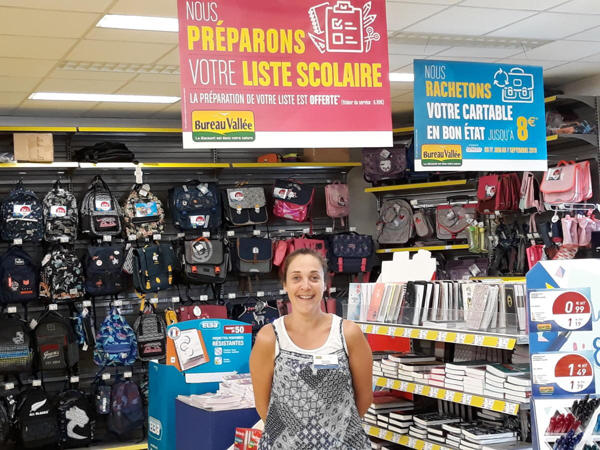 21-08-19 Le RDV Shopping de GRAND SUD FM avec Géraldine, Responsable du rayon rentrée des classes chez Bureau Vallée Narbonne