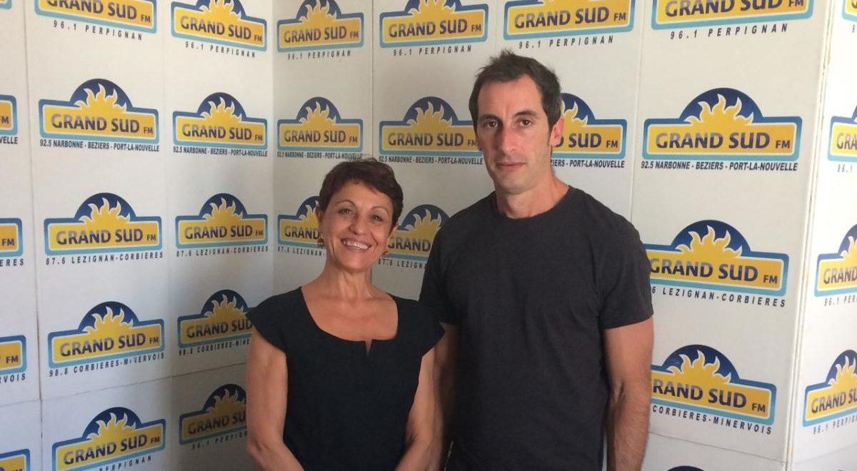 26-09-19 Rose Marie MANOGIL, directrice & Antoine NESTOR, directeur adjoint de la MJC de Narbonne