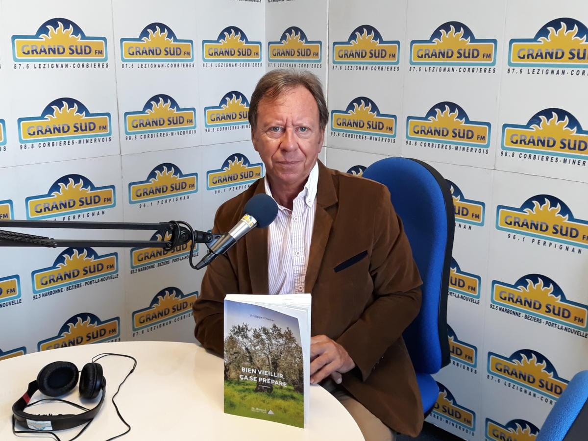 18-10-19 : Philippe CHARTIER présente son livre «Bien vieillir, ça se prépare».