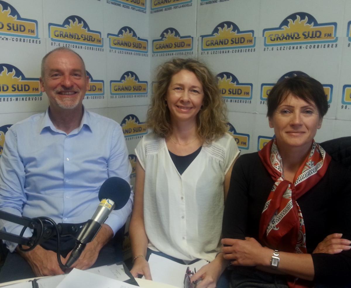 17-10-19 Didier MARCON, Yvonne BARBIER & Tatiana KOULIKOVA, «Ensemble pour un nouvel élan» à Lézignan-Corbières