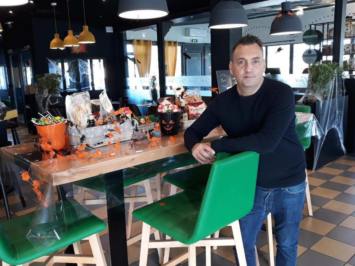 09-17-19 Le RDV Shopping de GRAND SUD FM avec Cédric ANDRE , directeur du restaurant italien Gusto à Narbonne
