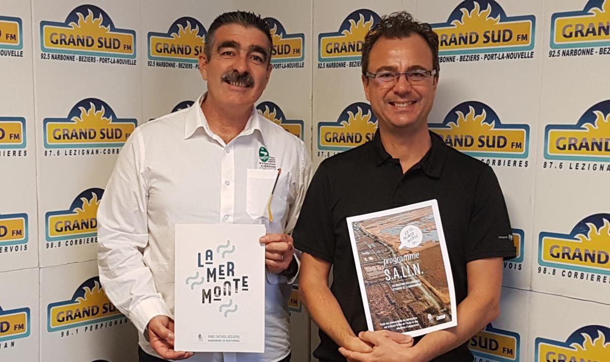 22-11-19 : Eric VOQUE, Responsable Ressource en eau et éco-développement & Michel DIAZ Directeur du Parc Naturel Régional de la Narbonnaise en Méditerranée