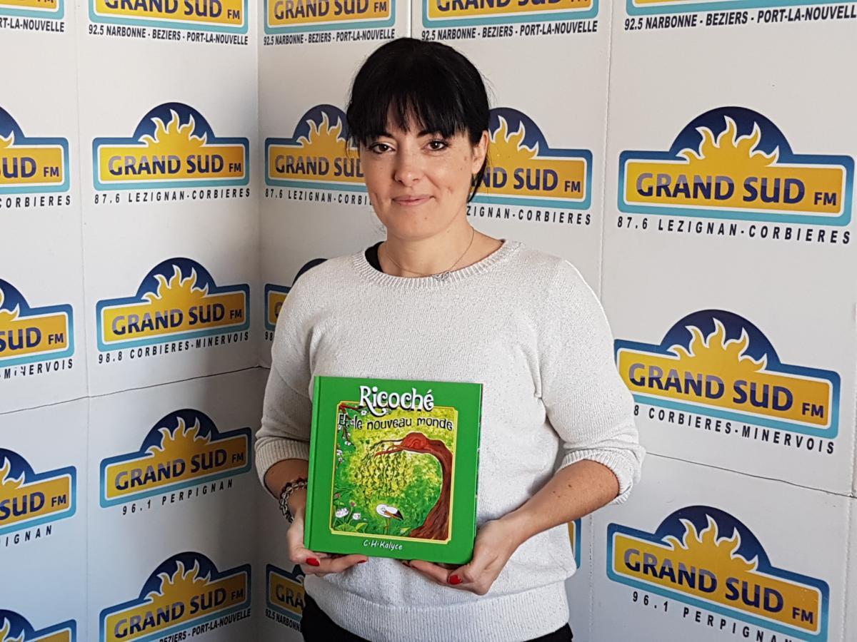 29-11-19 L'auteur C.H.KALYCE présente le livre pour enfant « Ricoché & le nouveau monde »