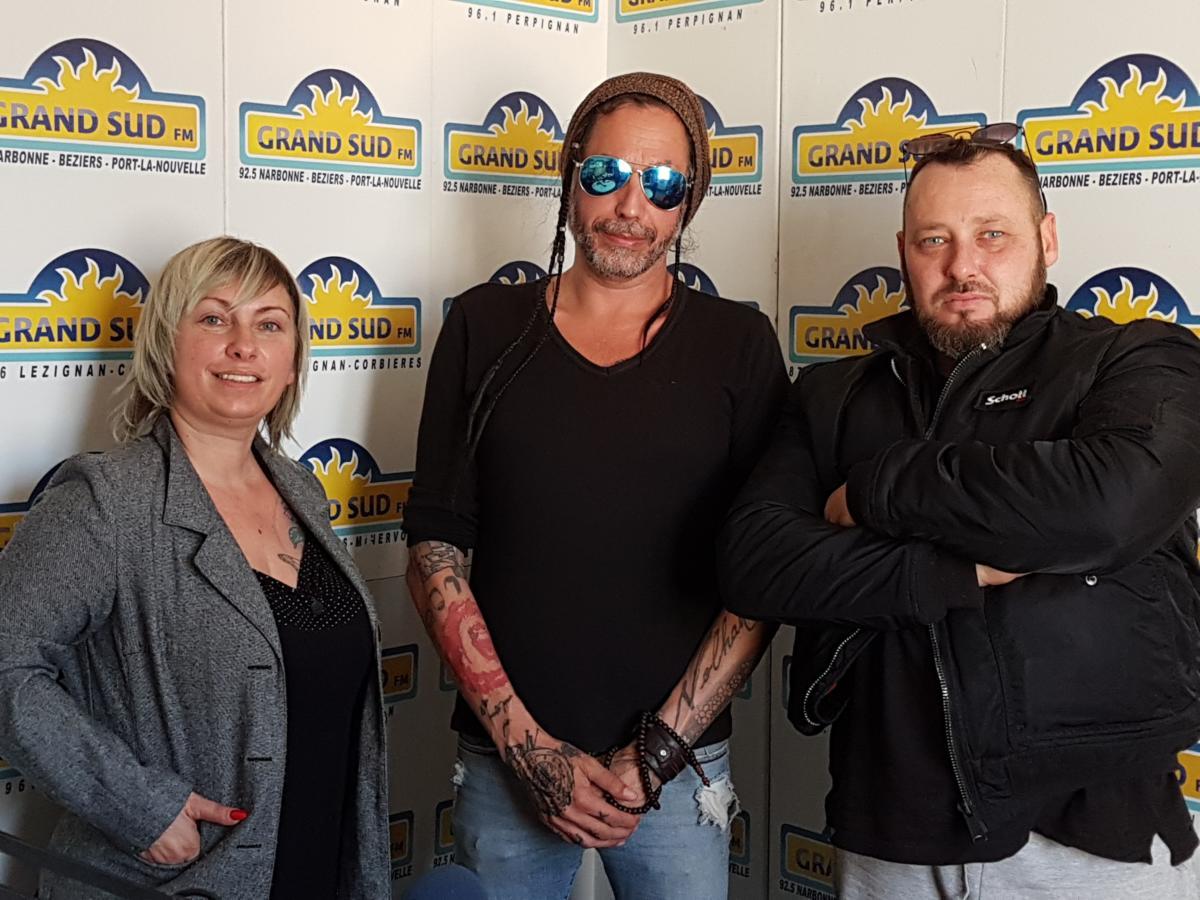 08-11-19 : Glam Poupy, Kiko & Taz présents pour l'association «On marche avec Maëva» à Ouveillan