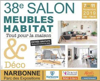 06-11-19 Le RDV Shopping de GRAND SUD FM avec Ophélie Noël pour la présentation du Salon Meubles, Habitat et Déco à Narbonne