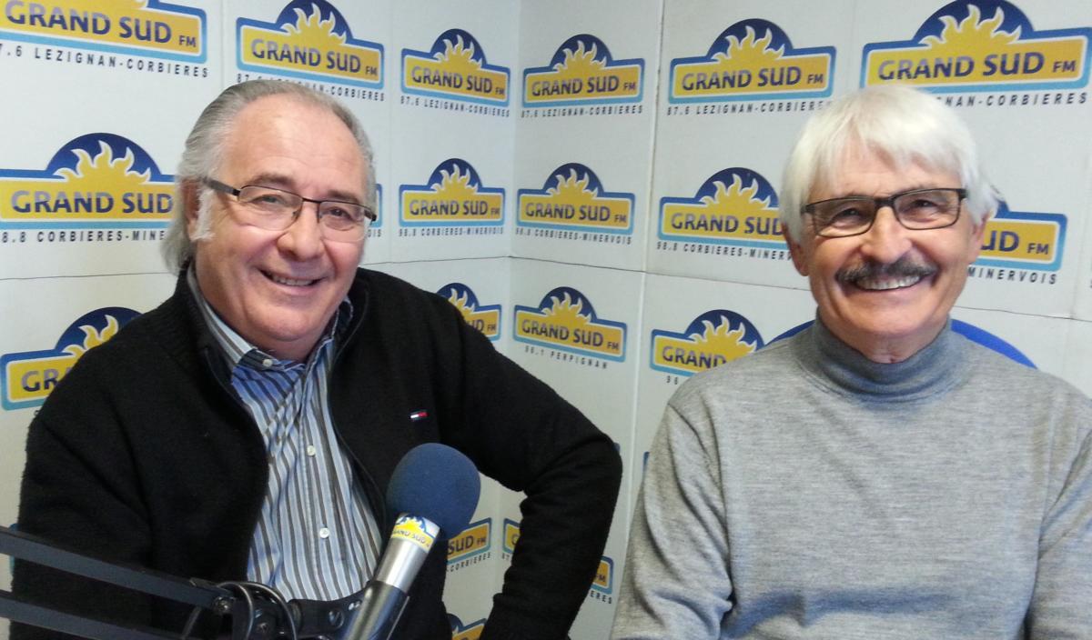 18-12-19 Yvan HURTADO & Jacques FERNANDEZ de l'association Ateneo du Narbonnais