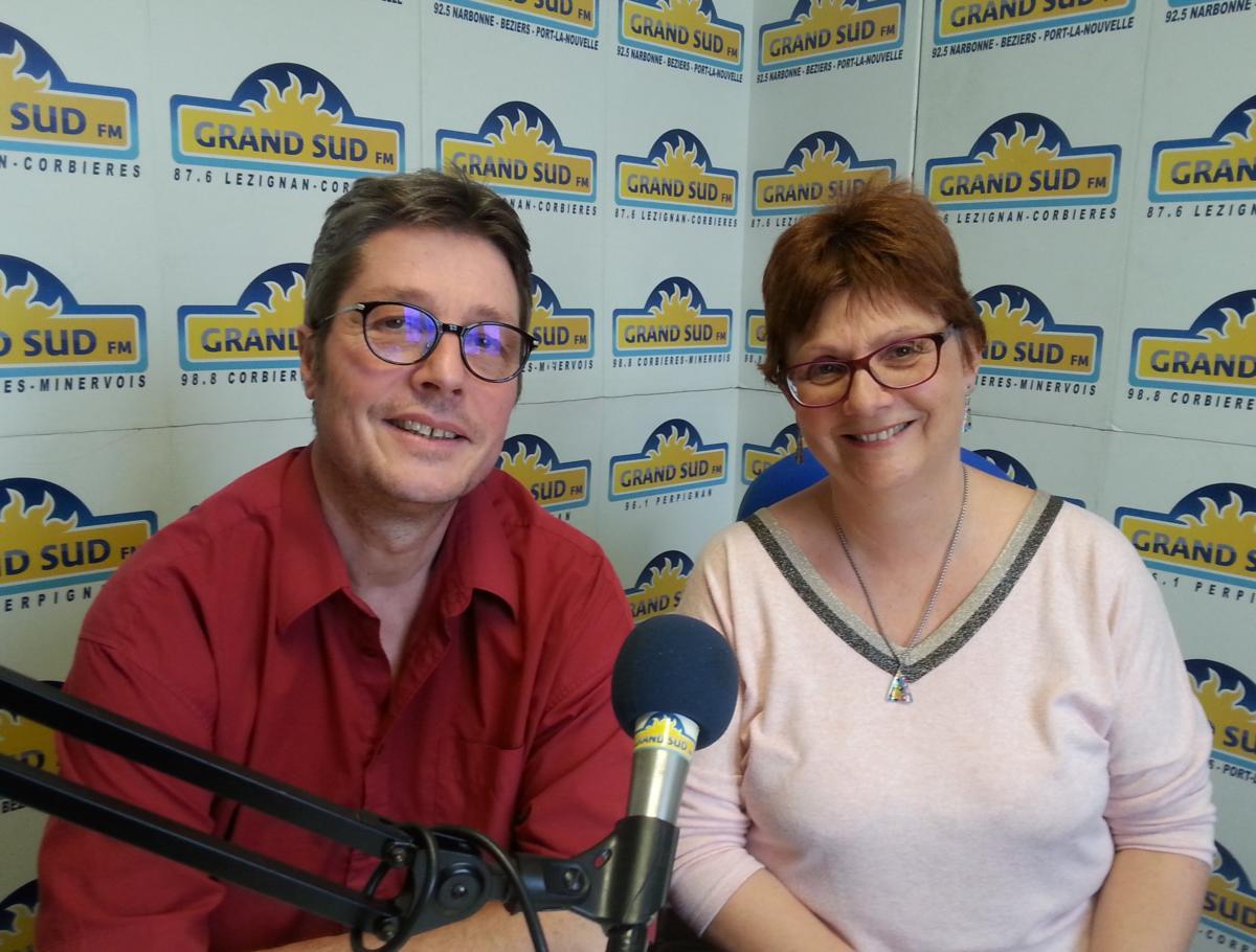08-02-20 Nathalie DELVALLEZ & Laurent DEMICHEL de la liste Narbonne Impulsion Citoyenne