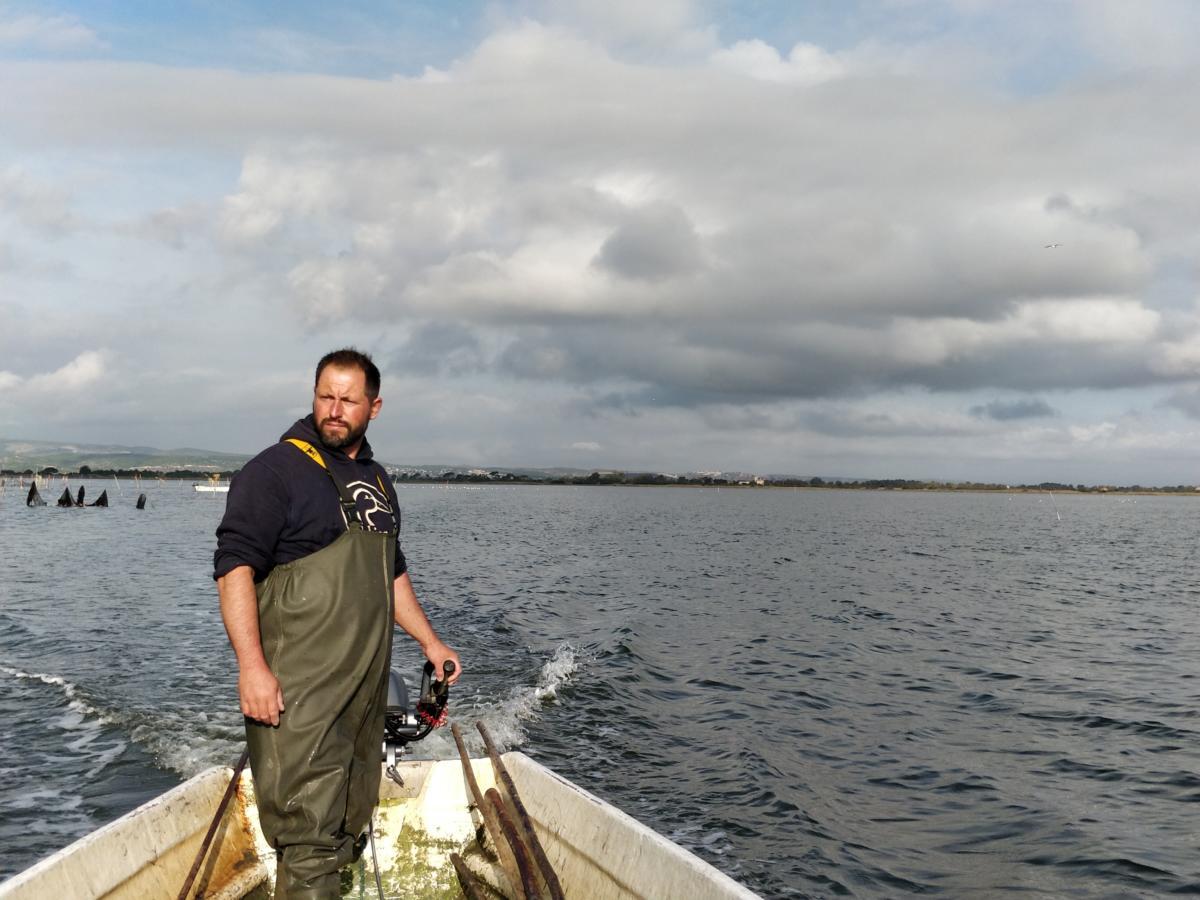 31-01-20 : Jean-Baptiste GAUBERT : patron pêcheur sur l'étang de Campignol à Gruissan