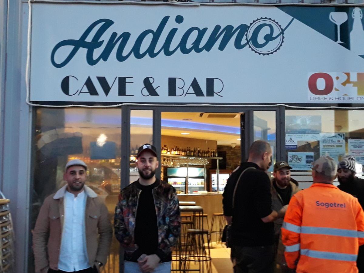 05-02-20 Le RDV Shopping chez Andiamo, cave et bar à Lézignan-Corbières