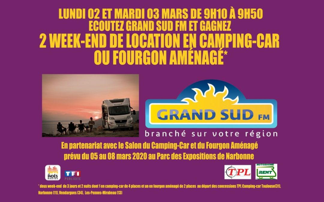 SALON DU CAMPING-CAR DE NARBONNE, 5-8 MARS