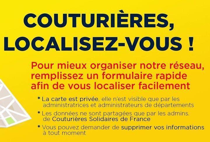 11-04-20 : Aurélie KOWAL, administratrice départementales des couturières solidaires de l'Aude.