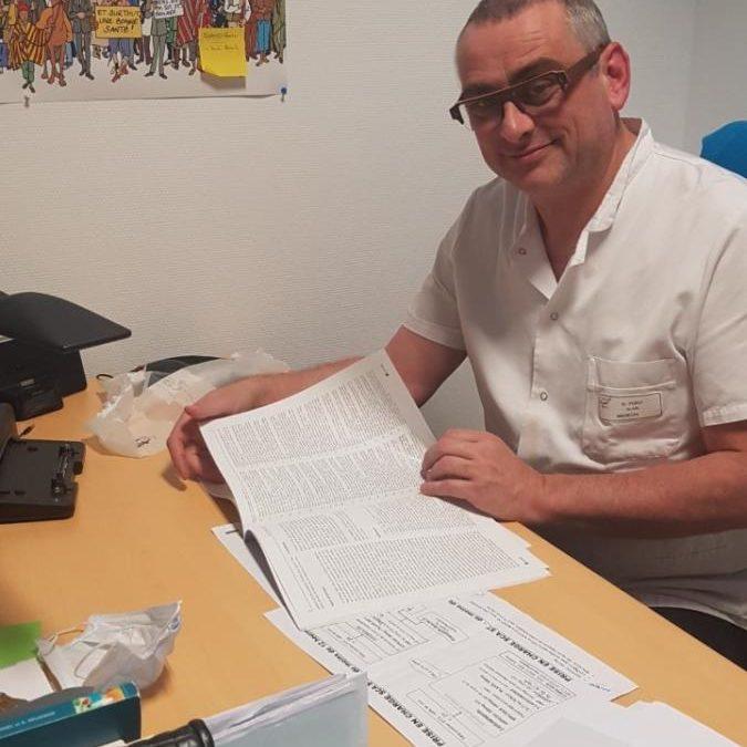 Alain PERET, chef du service des urgences CH Narbonne.