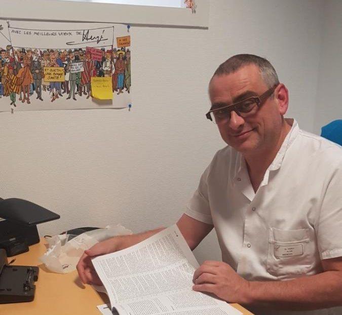 04-04-20 : Alain PERET, chef du service des urgences CH Narbonne.