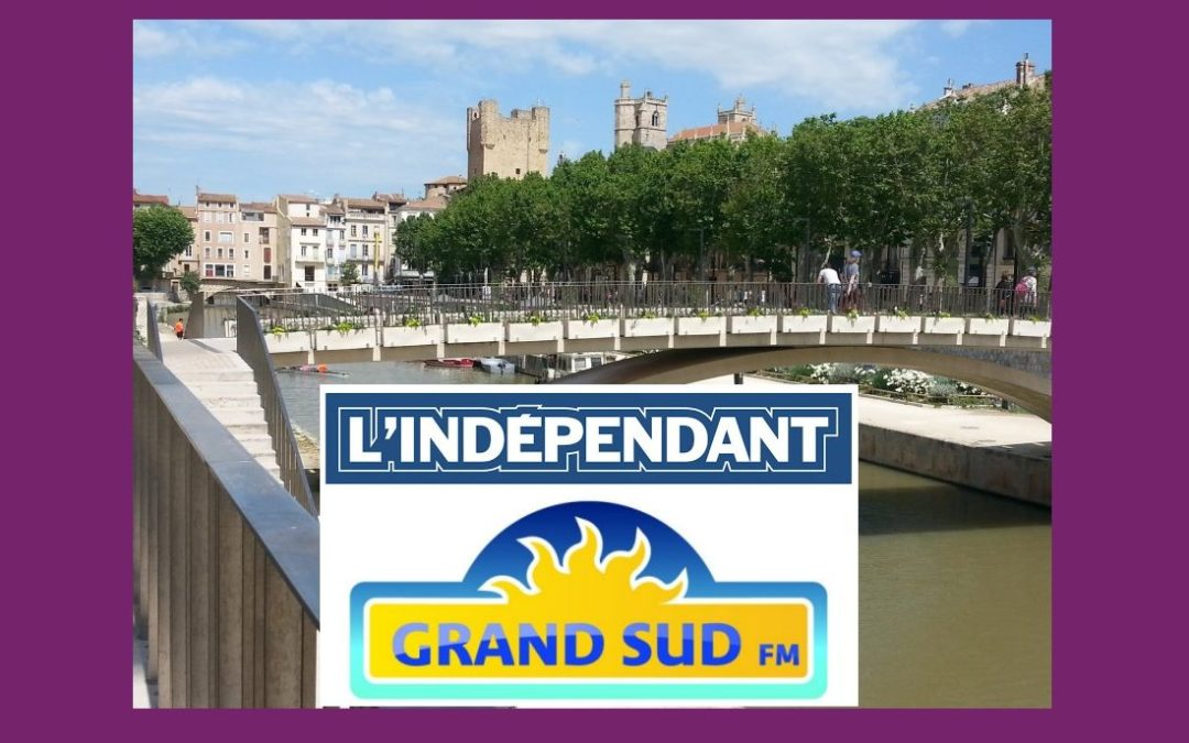Chaque matin sur Grand Sud FM, les titres de L'Indépendant Narbonne