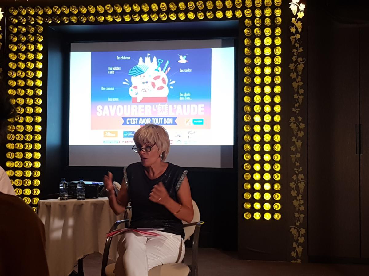 16-07-20 : Hélène SANDRAGNE : Présidente du département de l'Aude