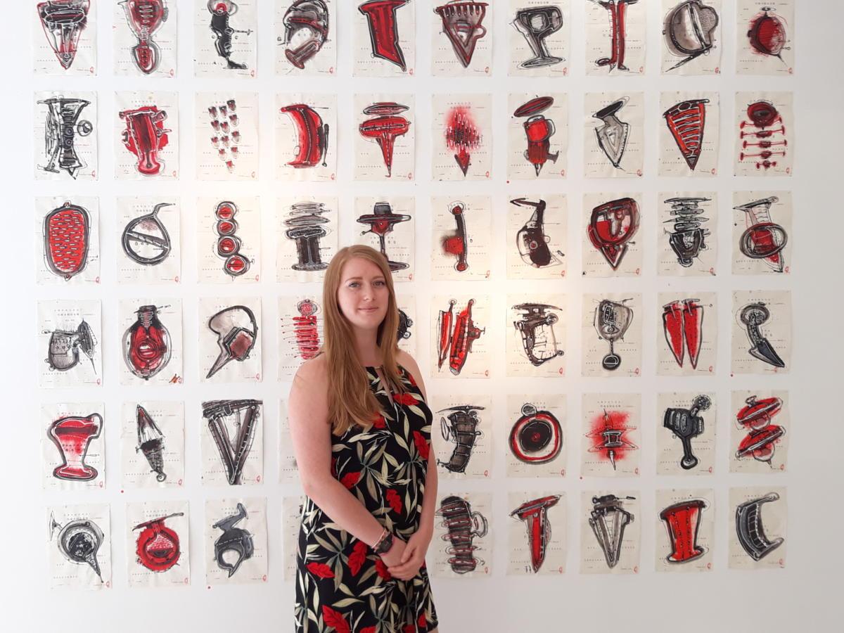 13-08-20 : Eva CHAPPERT GAUJAL a créée un «cabinet d'art particulier» à Narbonne
