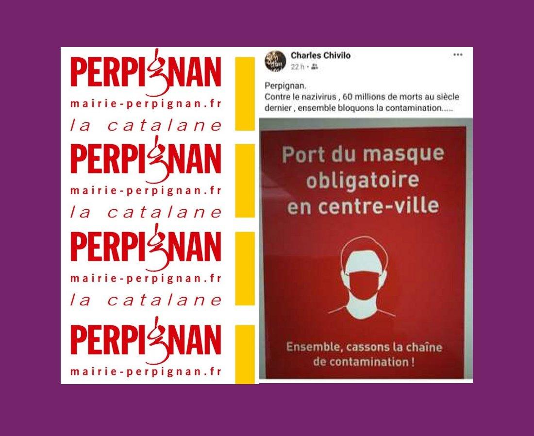 LA CHRONIQUE DE JEAN-CLAUDE JULÈS, 31 AOUT 2020. Coronazivirus. Polémique in Perpignan. LE TEXTE.
