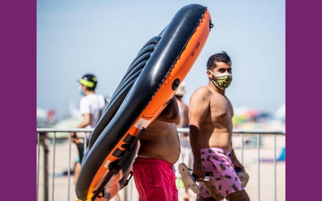 LA CHRONIQUE DE JEAN-CLAUDE JULÈS, 17 AOUT 2020. Vacances masquées. (LE TEXTE.)