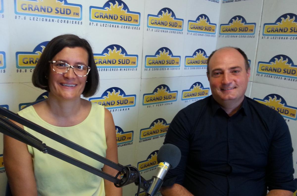 23-09-20 : Sandrine SIRVENT & Laurent FABAS, Europe Ecologie les Verts, candidats aux élections sénatoriales.