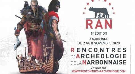 30-10-20 Marc AZEMA, président d'ARKAM et directeur des Rencontres d'Archéologies de la Narbonnaise