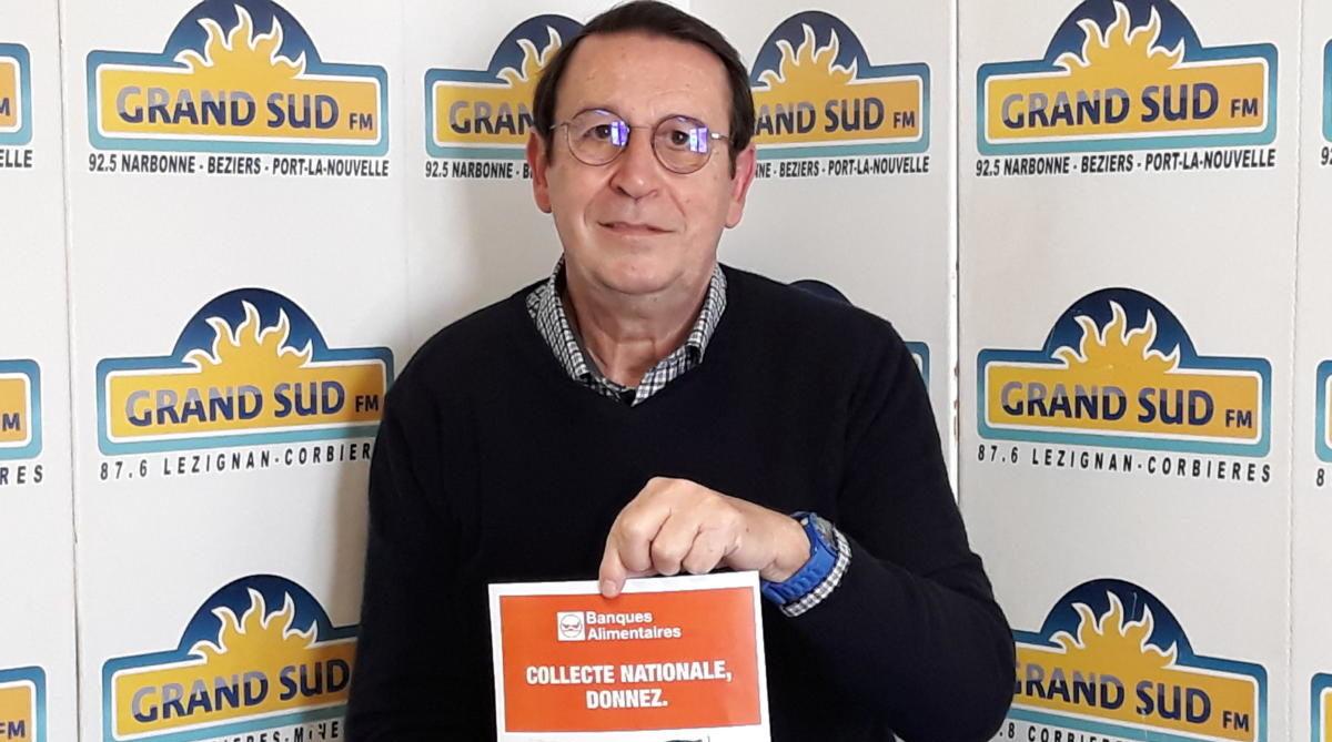 26-11-20 : Bernard BONNES, président de la banque alimentaire de l'Aude