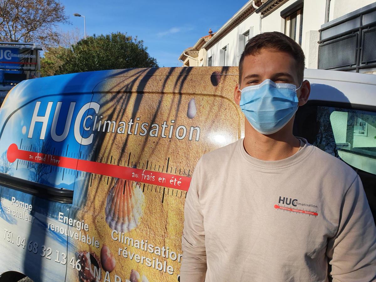 18-11-20 Le RDV Audois avec Loïc DUSSART, technico commercial chez Huc Climatisation à Narbonne