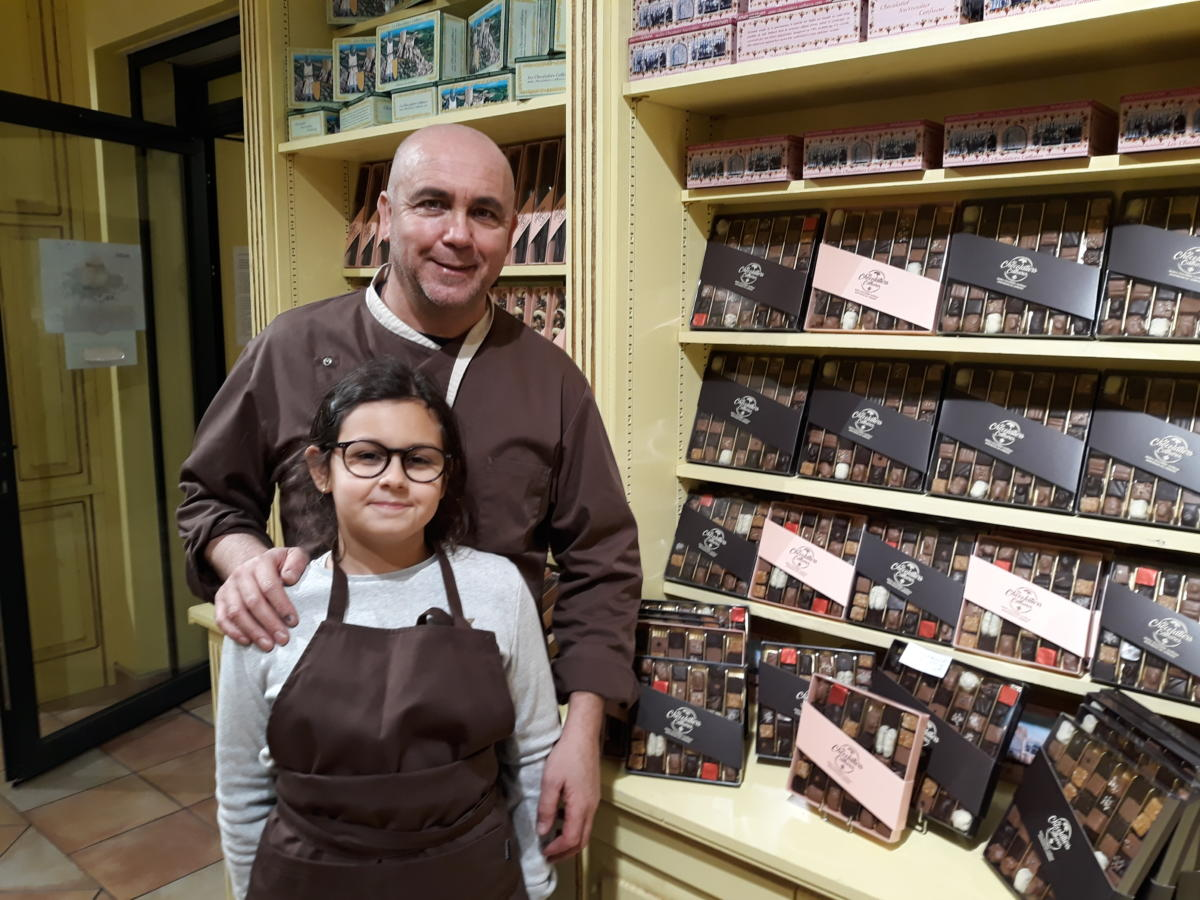 09-12-20 Youcef OSMANI, Maître Chocolatier chez les Chocolatiers Cathares à Montredon des Corbières