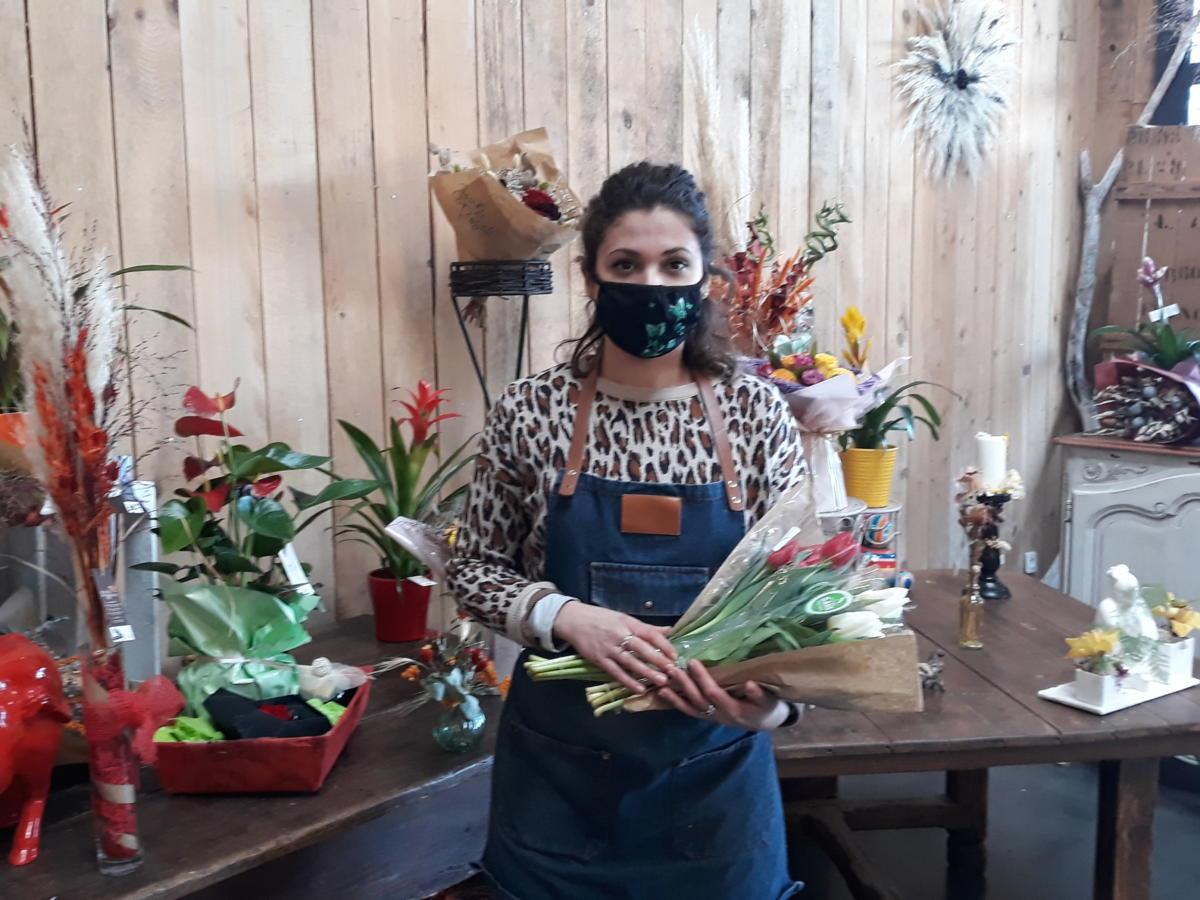 13-01-21 Marie, fleuriste chez Jour de Roses à Narbonne