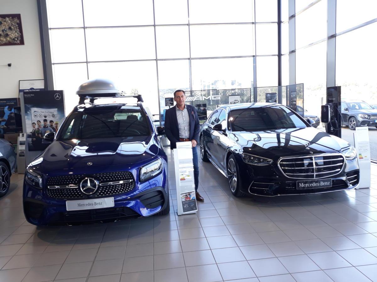 09-03-21 : Philippe Boyé, directeur de la concession Mercedes LG Narbonne Automobiles