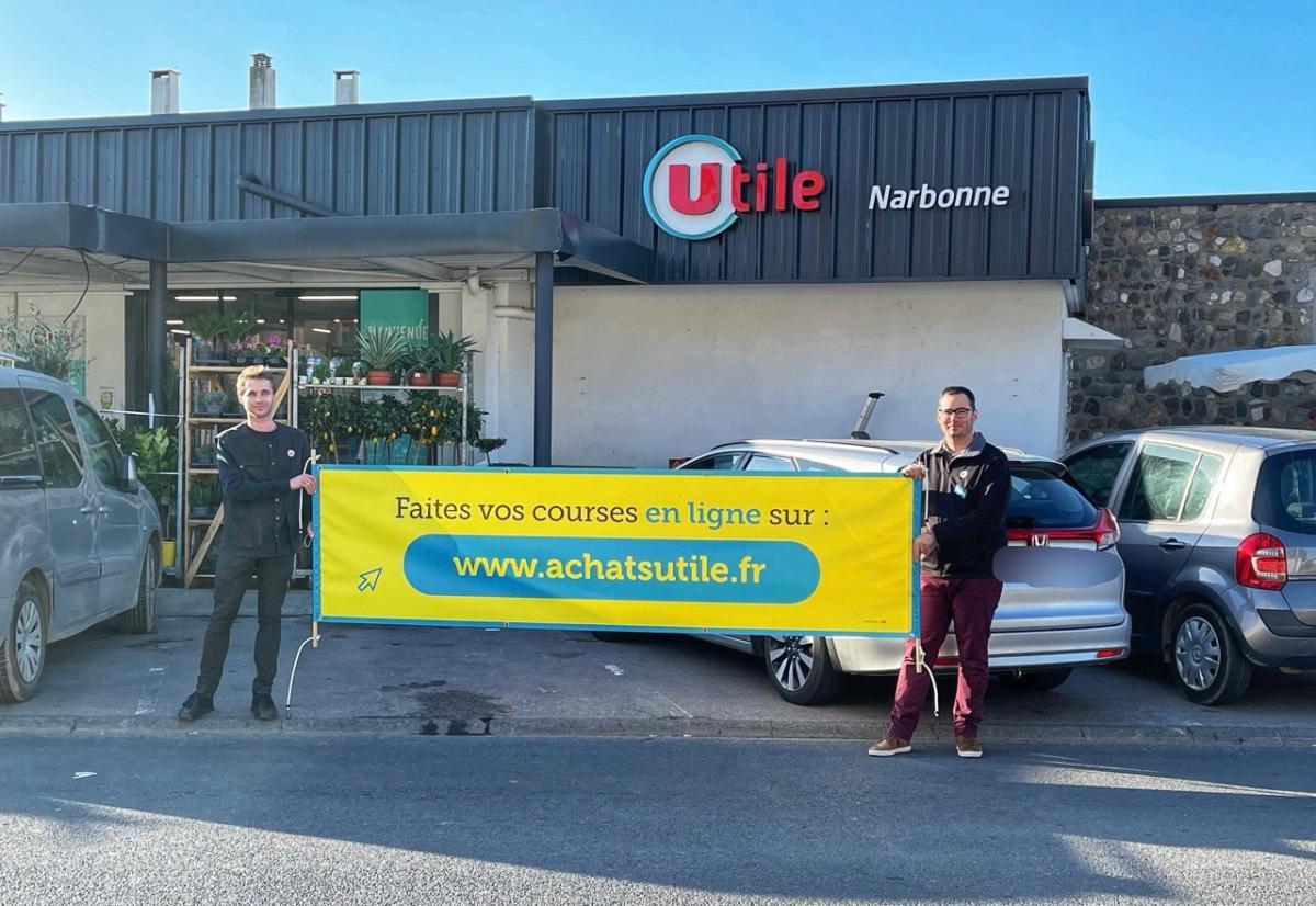 17-03-21 : Christophe Montagnié, directeur du magasin Utile Narbonne