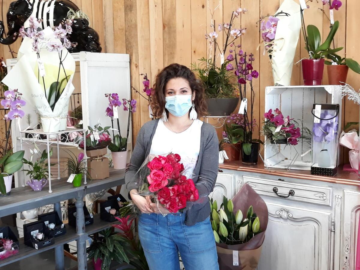 19-03-21 : Marie, Fleuriste chez Jour de Roses à Narbonne