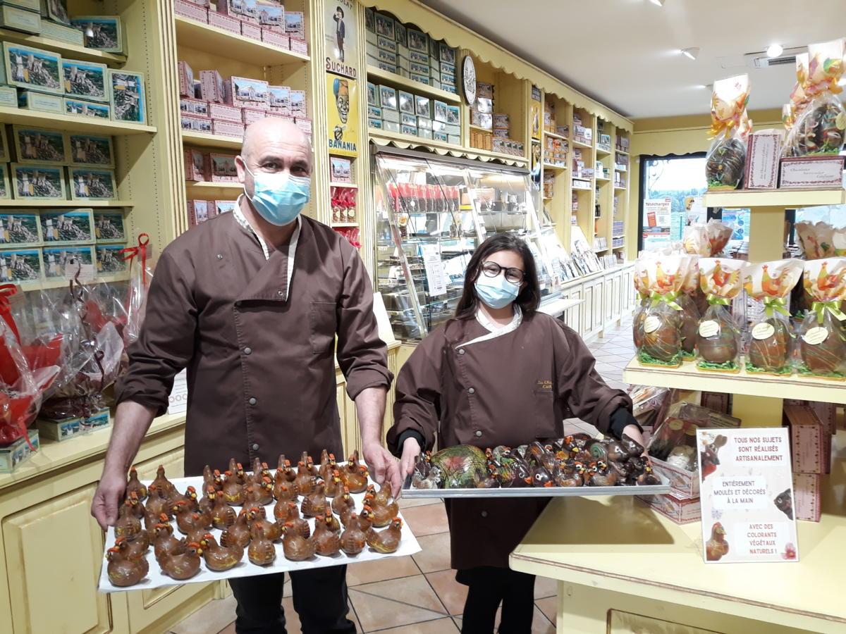 24-03-21 : Youcef Osmani, maître chocolatier chez les Chocolatiers Cathares à Montredon des Corbières