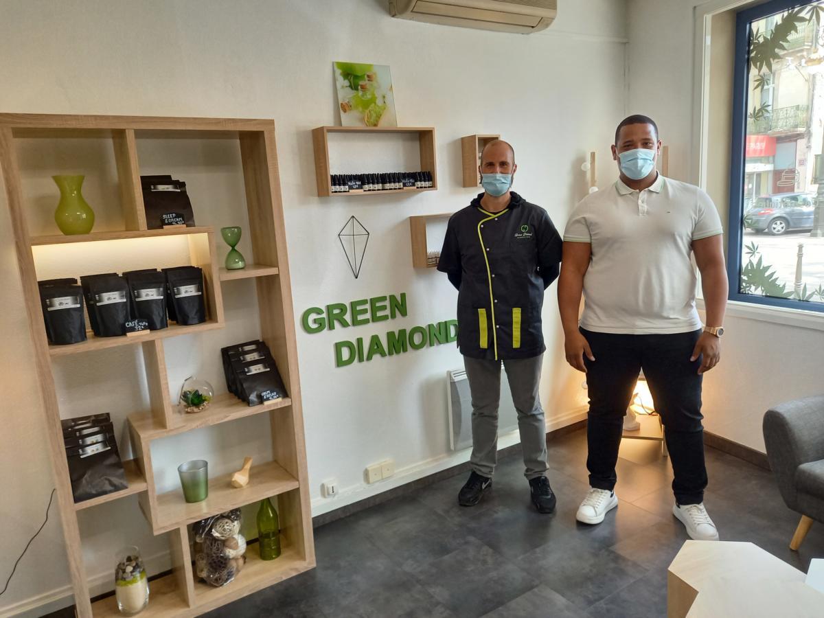 14-04-21 : Alexandre LAURAIN, responsable de la boutique de CBD Green Diamond à Narbonne
