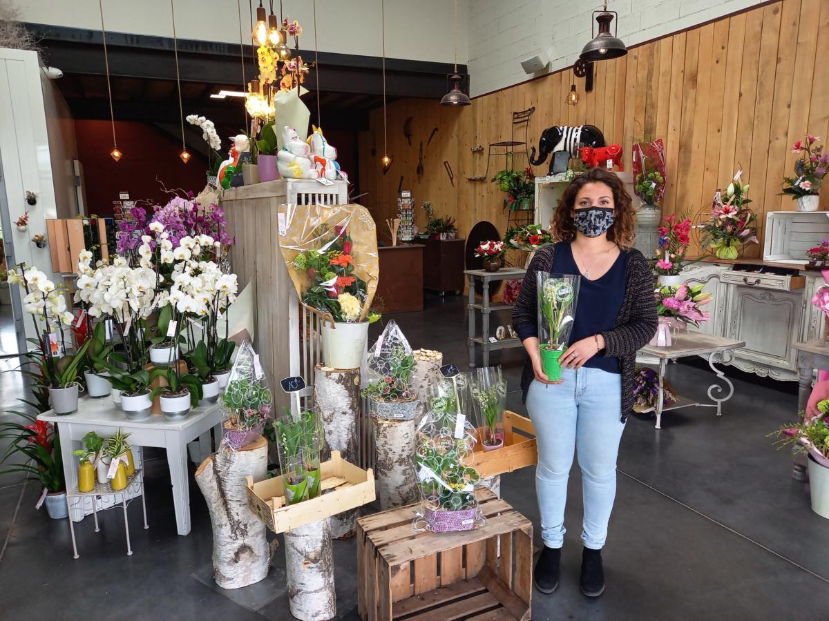 30-04-21 : Marie, fleuriste chez Jour de Roses à Narbonne