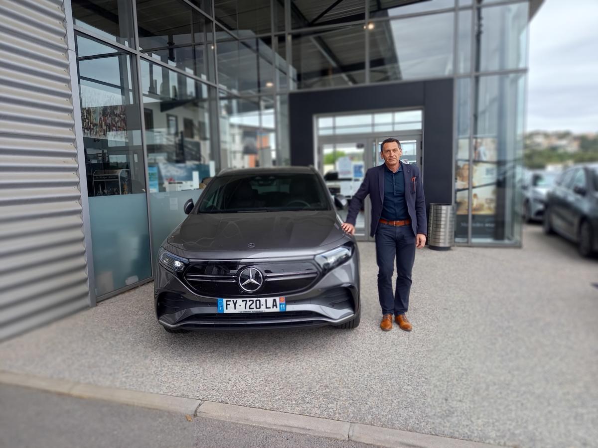 20-05-21 : Philippe Boyé, directeur de la concession Mercedes LG Narbonne Automobiles