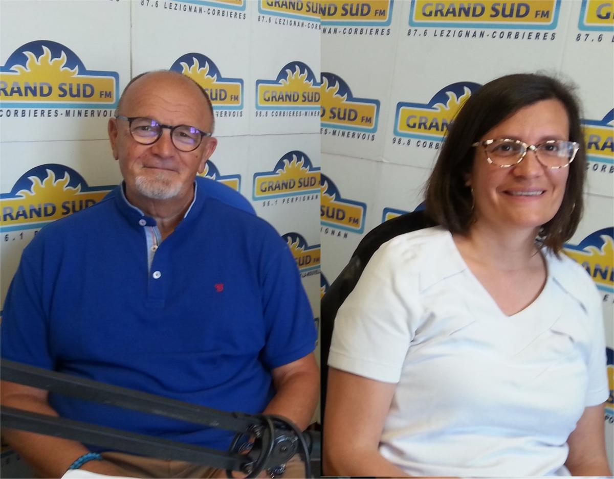 17-06-21 : Jean-Luc DURAND & Sandrine SIRVENT forment le binôme «Unis pour l'Aude» sur le canton Narbonne 2 aux élections départementales