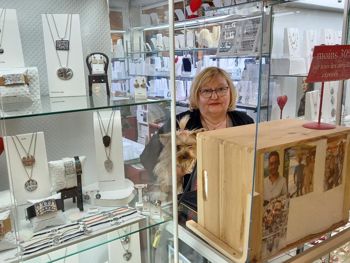 15-06-21 : Marie, à la tête de la boutique » O bijoux de Marie» à Narbonne