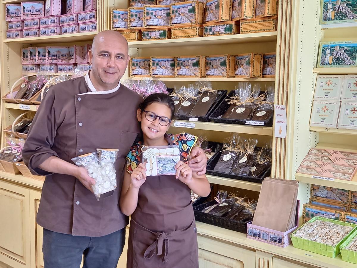 28-07-21 : Youcef OSMANI, Maître chocolatiers chez les Chocolatiers Cathares à Montredon-des-Corbières