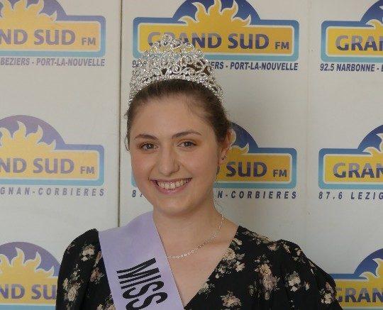 14-07-21 : Mélanie GERAY a été élue Miss Jeunesse Occitanie