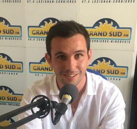16-07-21 : Quentin ESTRADE, candidat aux élections législatives sur la 2 ème circonscription de l'Aude