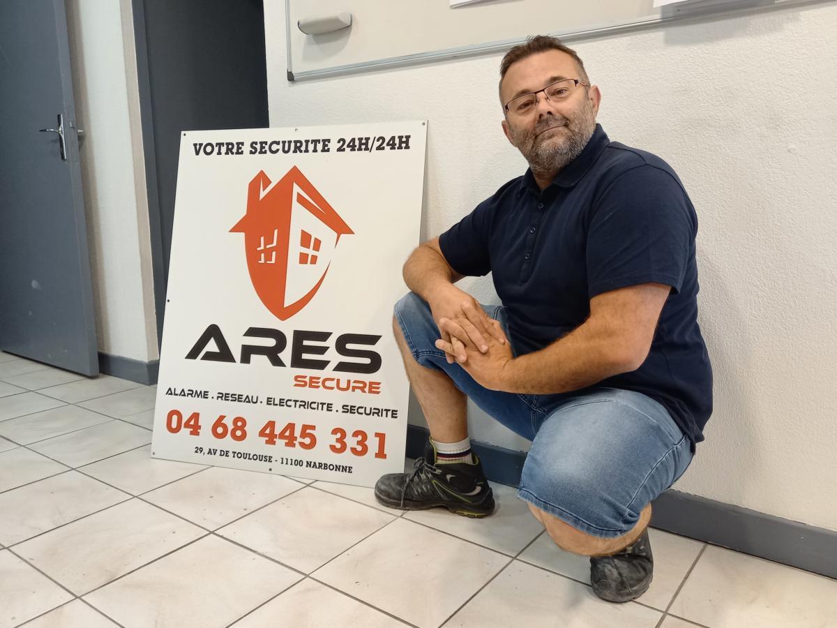 08-07-21 : Virgil LACROIX, responsable technique du magasin Ares Secure à Narbonne