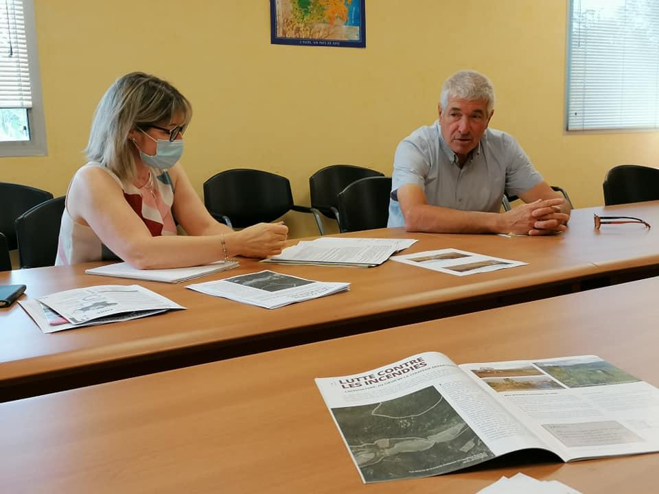 04-08-21 : Philippe VERGNES, Président de la chambre d'agriculture de l'Aude