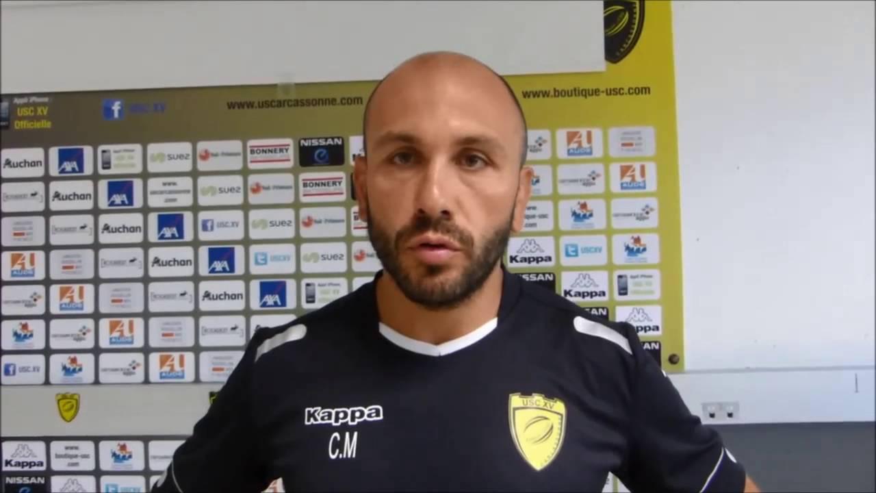 25-08-21 Mathieu CIDRE, entraineur des avants de l'US Carcassonne