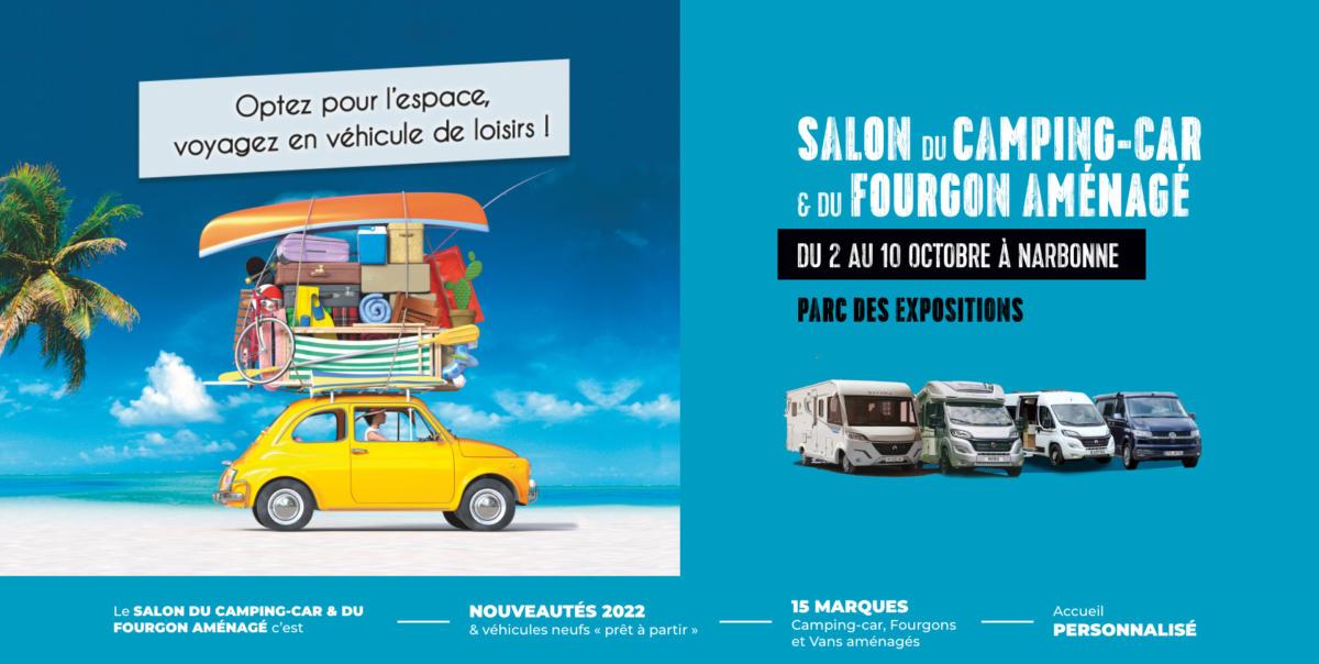 30-09-21 : Olivier TRINQUIER, organisateur du salon du camping car au palais des expositions de Narbonne du samedi 02 au dimanche 10 octobre