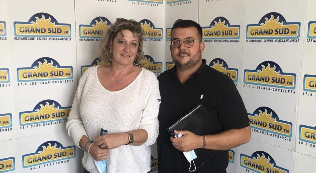 10-09-21 : Muriel MALGAUD-SOMME, vice présidente & Benoit PEREZ, président de La Bande de Copains à Narbonne
