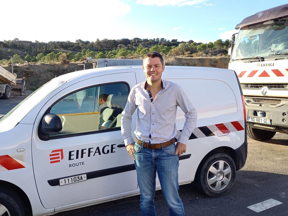 05-10-21 : Jean-Marc PUJOL, Directeur d'agence Aude/Pyrénées Orientales du Groupe Eiffage