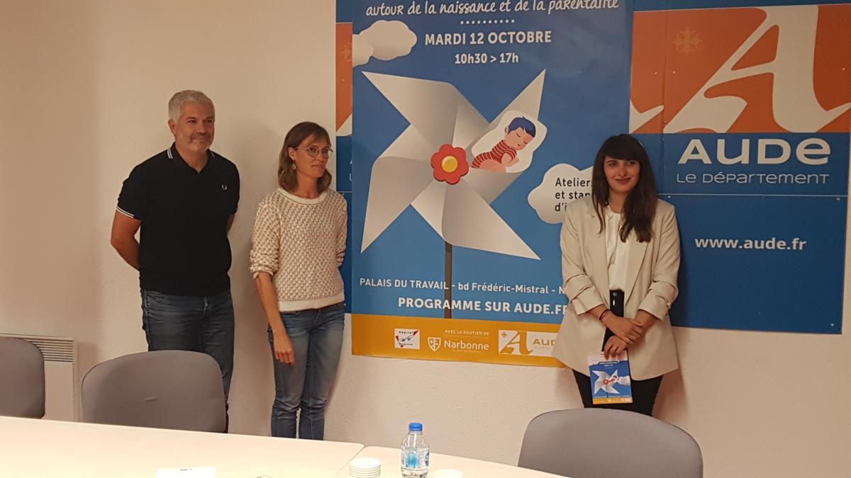 11-10-21 : Claudine BIBAL, puéricultrice pour la PMI de l'Aude