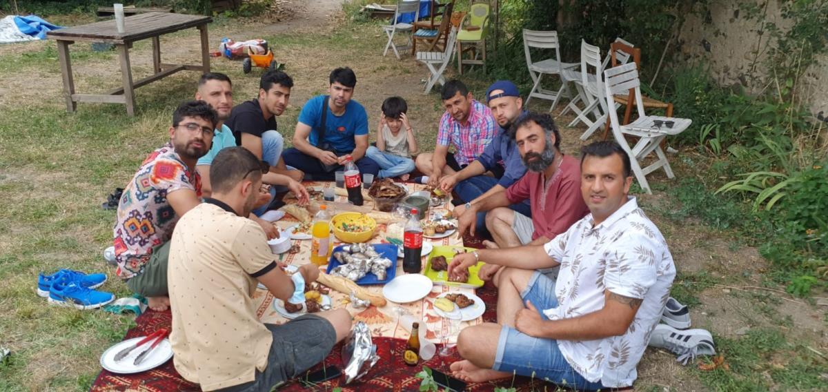 07-10-21 Yama ILLIASI, fondateur de l'association Nawroz dans les Pyrénées Orientales.